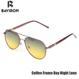 d2ce20c56cfdf Óculos de sol Day Night Vision Óculos De Sol Dos Homens Clássicos  Polarizados Visão Óculos de Condução Aviador Quadrado Duplo Usado Legal  Óculos De Sol