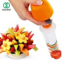 $enCountryForm.capitalKeyWord Canada - Whism Diy Plastic Canape Cutter Fruit Shaper Molds Maker Vegetable Food Salad Carving Desert Cake Tool For Party Festival