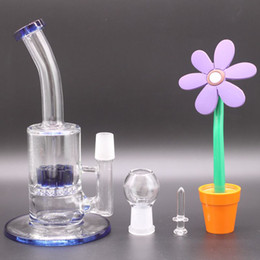 $enCountryForm.capitalKeyWord Australia - Newest Dab Rig Glass Bong With Blue Arm Reclaimer Honey bucket oil rig bongs water pipes fab egg bong colorful glass bubbler pipes