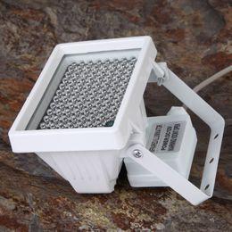 12 в 96 LED расширенный ночного видения ИК инфракрасный осветитель заполнить свет лампы вспышка для камеры видеонаблюдения 360 градусов паранормальные призрак охотничье оборудование