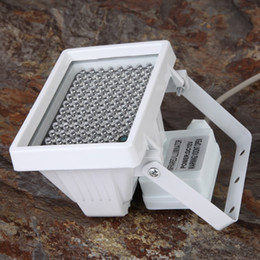 Vente en gros 12 V 96 LED Améliorée Night Vision IR Illuminateur Infrarouge Remplir Lumière Lampe Flash pour CCTV Caméra 360 Degrés Paranormal Ghost Chasse Équipement