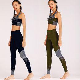 751986dc84 Tracksuit For Women Set Workout Sport Fitness Wear Suit Sexy Yoga 2 piece  Bra+Pants Sport Gym Workout Set Dot Print Sportswear
