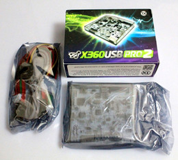 Wholesale High quality new TX X360 USB PRO V2 X360USBPRO2, X360USB PRO 2 X360USBPRO V2 for xbox 360