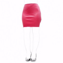fetish open dress Australia - 2018 New Fashion Fetish Slave Spanking Skirt Faux Leather Open Hip Bondage Sexy Lace Up Erotic Dress S&M Adult Game Sex Toy Products