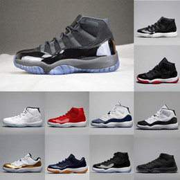 96745780a5fb (withbox) 11s 11 Gym Red UNC Men Shoes Platinum Tint cap and gown Neutral  Olive Cool Grey Gamma blue Concord 11s Casual shoes