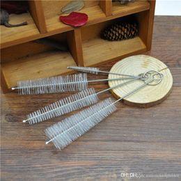 hookah cleaning brush 2019 - HoneyPuff 2 X Set of 4pc( 4 brushes ) Hookah Shisha Cleaning Brushes Test Tube Brush Vaporizer Vape Pipe Glass Hookah Ta