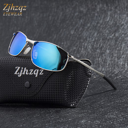 Vision alloy online shopping - Polarized Sunglasses Brand Designer Mens Outdoor Sports Golf UV400 Mirrored Night Vision Car Driving Goggle Male Glasses