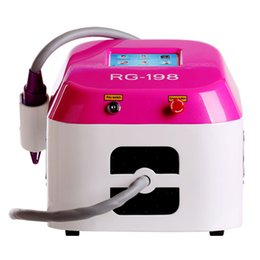 Tattoo Removal Scars NZ - Effective clean Real 2000MJ Touch screen Q switched nd yag laser beauty machine tattoo removal Scar Acne removal 1064nm 532nm Rotate handle