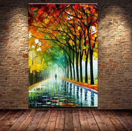 $enCountryForm.capitalKeyWord NZ - Handmade & HD Print Tree Street Modern Abstract Landscape Art Oil Painting On High Quality Canvas Home Decor Multi Sizes  Frame Options l21