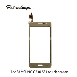 Touch screen grand online shopping - 50Pcs For Samsung Galaxy Grand Prime G530 G531F G531Touch Screen Touch Panel Digitizer Sensor Glass Lens Repair Replacement Parts Free DHL