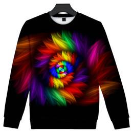 4434a6915f7d Tie Dye Clothing UK - WEJNXIN New Tie Dye 3D Print Capless Hoodies Men  Women Unisex