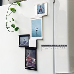 Desktop Photo Frames Canada - Picture Frames Collage Decorative Sets For Wall Desktop Collage Photo Frame For Family Home and Office Multi-frame Photo Frame