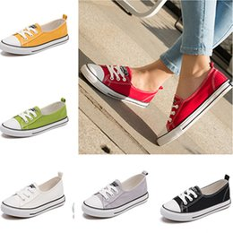 Princess Canvas Shoes NZ - Summer Women Low-top Sneakers Casual Canvas Shoes Teenage Girls Sports Shoes Breathable Runnng Plimsolls 35-40 Sports Leisure Cosplay Shose