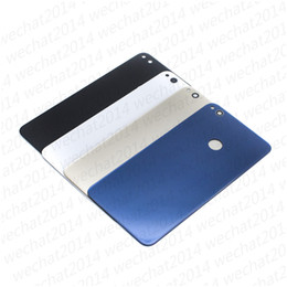 Cover Case huawei honor online shopping - 300PCS New Back Glass Cover Battery Door Housing Case With Adhesive Camera Lens Speaker Mesh for Huawei Honor Lite Lite