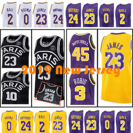 608c63499 2019 New Utah 45 Donovan Mitchell 3 Ricky Rubio 23 MJ 10 NJ Men s 23 LeBron  James 0 Kyle Kuzma 2 Lonzo Ball Jerseys