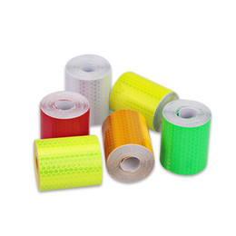 1pc 5cmx3m Reflective Safety Warning Tape Film Sticker Adhesive Decoration Warning Tape Back To Search Resultssecurity & Protection