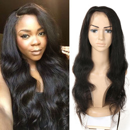 Chinese  9A 130% Density Full Lace Human Hair Wigs Indian Remy Hair Body Wave With Natural Hair Line Free Shipping manufacturers