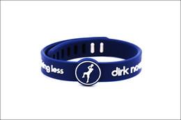 $enCountryForm.capitalKeyWord Australia - Fashion jewelr basketball super star signature silicone power bracelet metal buckle energy wristband balance bangle for nowitzki