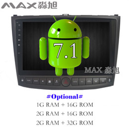 Gray console online shopping - Android Car DVD Player for Lexus IS250 Car Radio RDS BT WIFI SWC GPS map