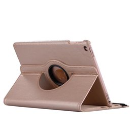 Wholesale For ipad air air2 Degree Rotating Rotary PU Leather Case Smart Cover Stand For New iPad Pro