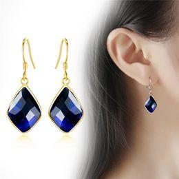 $enCountryForm.capitalKeyWord NZ - 2018 New Fashion Square Drop Earrings for Women Wedding Engagement Dangle Earring Brinco Jewelry Wholesale YMCJE110