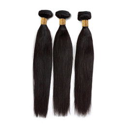 Fast unprocessed human hair online shopping - Indian Straight Hair Weave Bundles Unprocessed Virgin Human Hair Extensions Silky Hair g Bundle Natural Color Fast Shipping