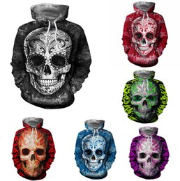 $enCountryForm.capitalKeyWord Australia - Men Women Hoodies Pullover Sweatshirts Long Sleeve 2018 Autumn Winter Brand Hooded 3D Print Tracksuit Plus Size Tops Casual Skull