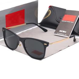 $enCountryForm.capitalKeyWord NZ - 60MM 4210 New Vintage Sunglasses Wayfarer Brand RAYS Sun Glasses Bands Gafas de sol Men Women BEN BANS Mirror glass Lenses with case