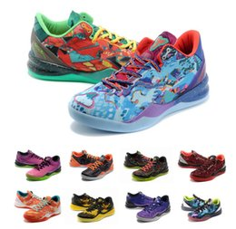 Multicolor What the kobe 8 VIII System Top Basketball Shoes for Cheap  Classic KB 8s Mamba Assassin Easter Master Sports Sneakers Size 40-46 31bef2452