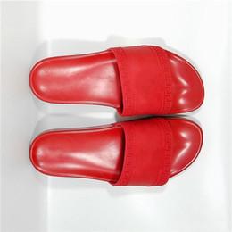 China 2018 Europe Brand Fashion Mens Women Striped Sandals T5Versace Medusa Scuffs Causal Non-Slip Summer Huaraches Slippers Flip Flops Slipper suppliers
