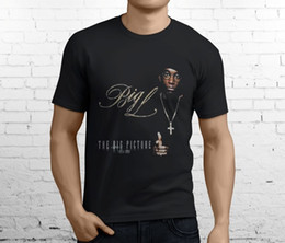 Free Gift Picture NZ - The Big Picture BIG L Lamont Coleman Hip Hop Rap Men's Black T-Shirt Size S-3XLFunny free shipping Unisex Casual tshirt gift top
