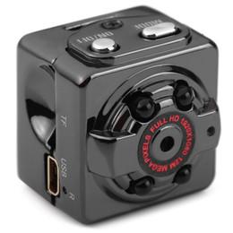 Chinese  Dewtreetali SQ8 Ultra Mini Car DVR 1080P Full HD Class 10 Video Recorder DV Camera Motion Detection Camcorder Car DVR camera manufacturers