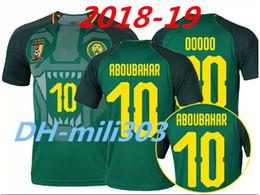 1d569ed0bf0 Top Thai quality 2018 Cameroon soccer jersey 18 19 Vincent Aboubakar  Benjamin home football jerseys shirt