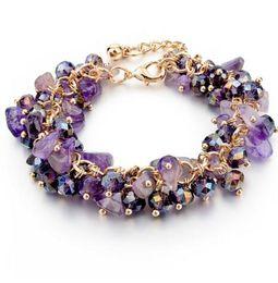 $enCountryForm.capitalKeyWord Australia - CHICVIE Charm Bracelets & Bangles with the new money Stones Gold color Bracelet Femme for Women Jewelry SBR140192