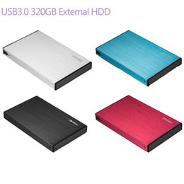 Discount hard drives for laptops - New 2.5 inch USB3.0 320GB External HDD Portable Hard Disk Drive for Desktop Laptop USB with Type A-Micro B data cable