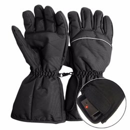 China Waterproof Heated Gloves Battery Powered For Motorcycle Hunting Winter Warmer supplier battery warmers suppliers