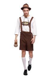 745fdbdf37 Plus Size Mardi Gras Costumes UK - Costume Lederhosen Bavarian Octoberfest  German Festival Beer Cospaly Halloween