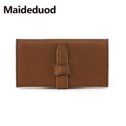 $enCountryForm.capitalKeyWord Canada - Wholesale and retail Genuine Leather Wallet for Women Female RFID Blocking Wallets Big Travel Buckle Women's Purse Ladies Long Phone Holder