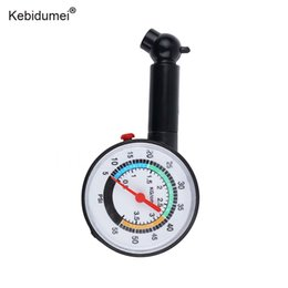 pressure gauge meter 2019 - kebidumei Air Tire Pressure Gauge Meter Handle Mirror Shaped Vehicle Motorcycle Car Tyre Tester Tyre Air Monitor System