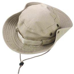 2142c92b854 Bucket Hat Hunting Fishing Outdoor Cap Brim Military Hat Camouflage Caps  Paintball Fish Hike Camp Travel Cap Men s Hunt Caps