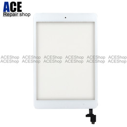 Ipad mInI black online shopping - ACE High Quality Touch Screen Glass Panel with Digitizer with ic Connector Buttons for iPad Mini Black and White