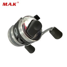 steel shot for NZ - Fishing Reels for Slingshot Shooting Fish Use Dart Stainless Steel Closed Fishing Wheel for Outdoor Hunting