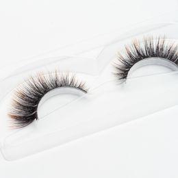 $enCountryForm.capitalKeyWord UK - Seashine Handmade 3d silk eyelashes colorful synthetic eyelash make up eyelashes false color lashes free shipping