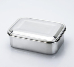 sandwiches box Australia - 800ml Stainless Steel Food Container open design stainless steel lunch box snake box for Sandwiches, Wraps, Salads