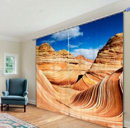 Grand Canyon 3D Blackout Curtains Healthy Non Pollution Digital Print Customiz Design Tablecloth Shower Curtain Bedding