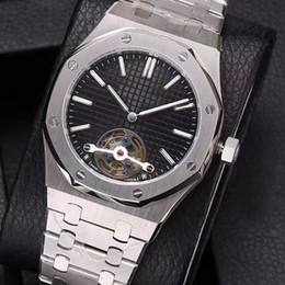$enCountryForm.capitalKeyWord Canada - 2018 Top Selling Luxury Tourbillon Watch Special Stainless Steel Band Automatic Mechanical Men Mens Watches Wristwatches