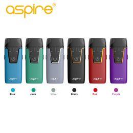 $enCountryForm.capitalKeyWord NZ - Original Aspire Nautilus Aio Kit 4.5ML 2ML Ejuice 1000mAh Battery 1.8ohm Coil Bottom Fill 12W E-cigarette Vape Kits 2018 Newest Aspire