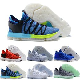7b07f9901420 High Quality Zoom KD 10 Anniversary PE Men Basketball Shoes KD X Elite Low Kevin  Durant Designer Basketball Shoes Athletic Sport Sneakers