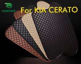 $enCountryForm.capitalKeyWord Australia - Car Styling Car Trunk Mats for Kia CERATO Trunk Liner Carpet Floor Mats Tray Cargo Liner Waterproof 4 Colors Opitional