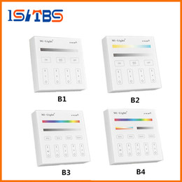 $enCountryForm.capitalKeyWord UK - Mi Light B1 B2 B3 B4 Panel Controller 2 X AAA Battery 2.4G RF Touch Screen Control for CCT DIM RGB RGBW RGB+CCT LED Strip   Bulb